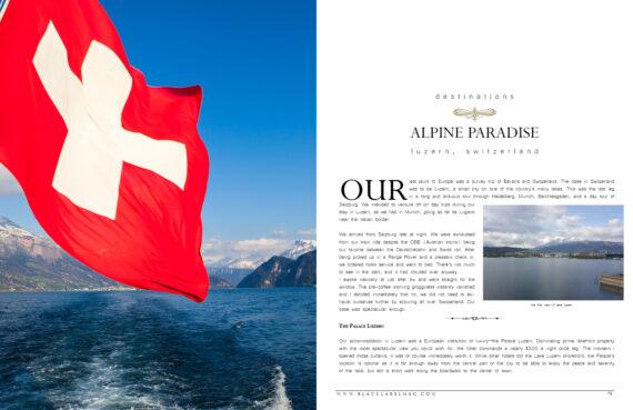 travel, luxury, beauty, Switzerland, Luzern, Lucerne