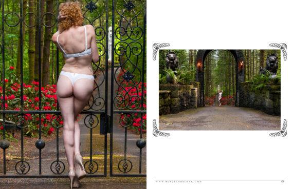 nude art magazine, Black Label Magazine, lingerie, Lise Simone Perele, sexy, boudoir images