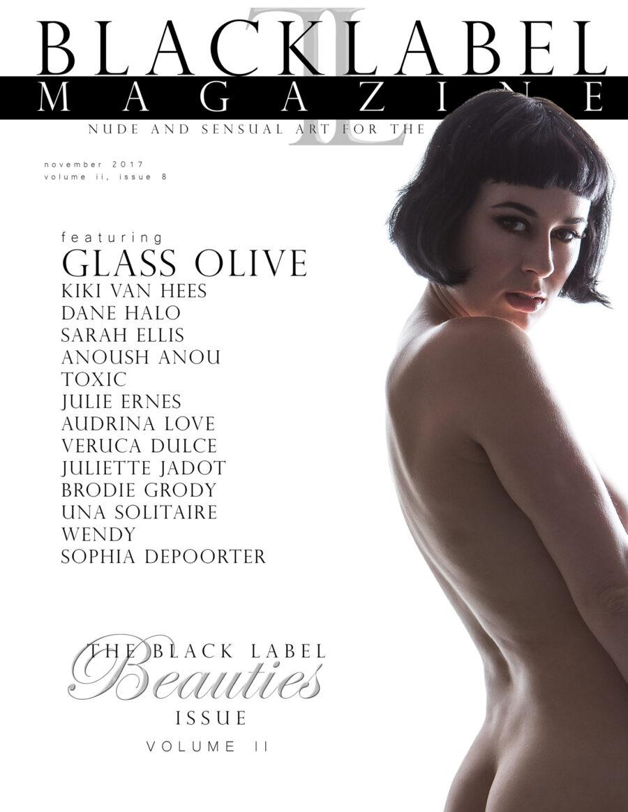 Glass Olive, Dane Halo, Kiki Van Hees, Julie Ernes, Veruca Dulce, Brodie Grody, Toxic Suicide, nude, nude art, nude photography, black label magazine